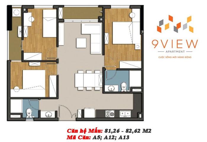 mẫu căn hộ 9 view 2