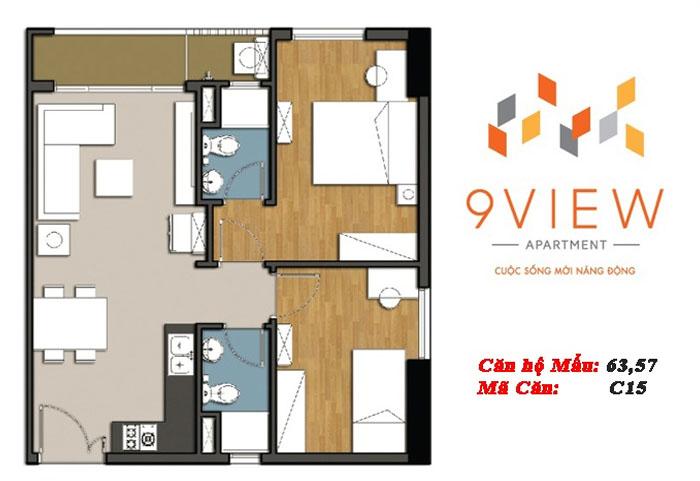mẫu căn hộ 9 view 5