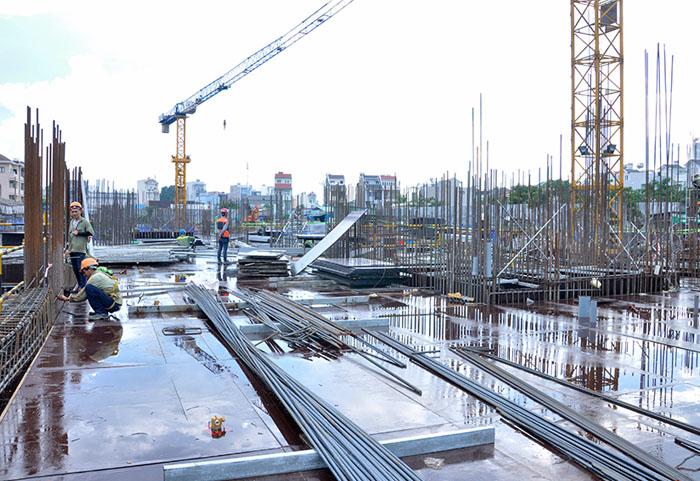 tiến độ xây dựng căn hộ 9 view 4