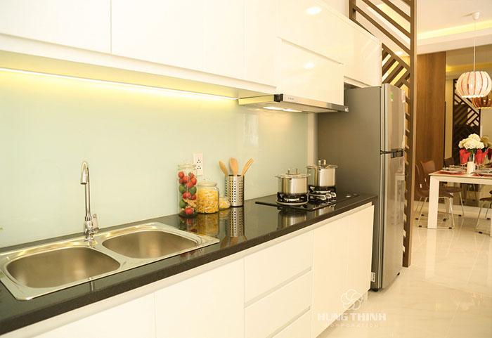 phòng bếp căn hộ Richmond City