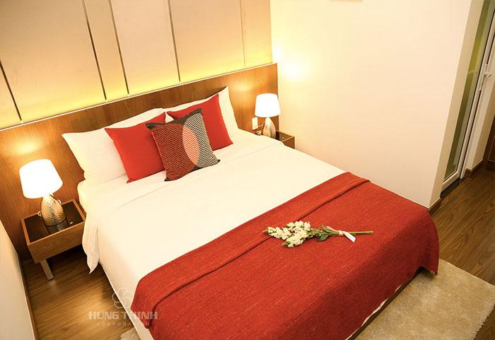phòng ngủ căn hộ richmond city