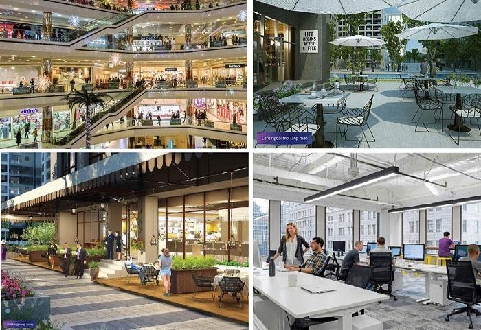 trung tâm thương mại căn hộ richmond city