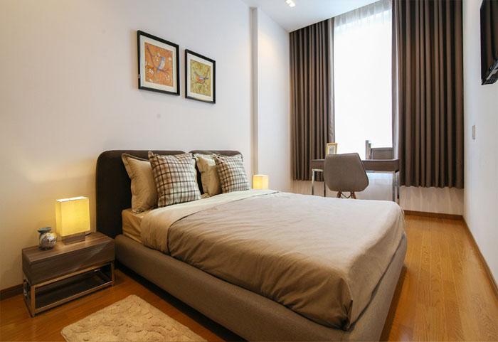 phòng ngủ căn hộ sky center