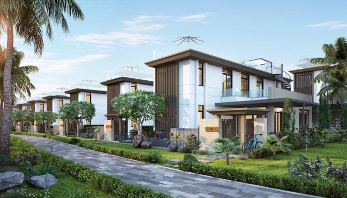 mẩu biệt thự mystery villas cam ranh 1