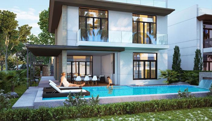 mẫu biệt thự mystery villas cam ranh 2