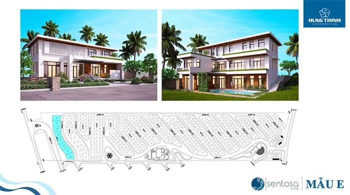 thiết kế biệt thự sentosa villa phan thiết hưng thịnh