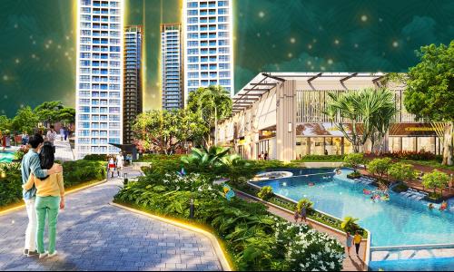 Thiết kế căn hộ Lavita Thuận An Bình Dương chuẩn resort tại gia đầu tiên tại Việt Nam