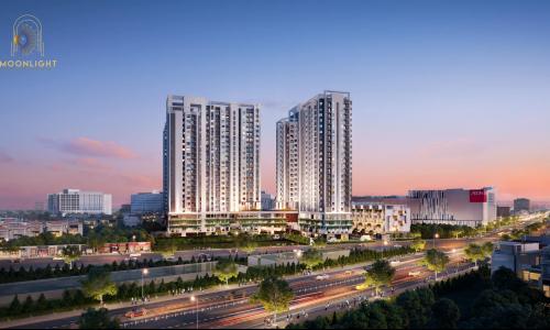 Chung cư Moonlight Bình Tân - nơi giao thoa thương mại sầm uất quận Bình Tân