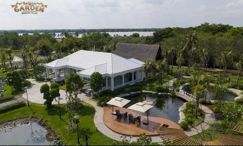 Không gian sống sinh thái ven sông tại Saigon Garden Riverside Village Quận 9